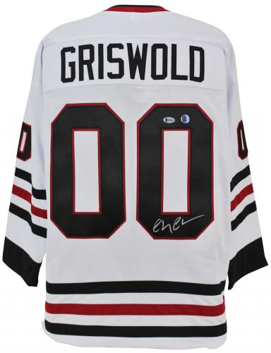 Chevy Chase Christmas Vacation Signed Santa Clark Griswold Jersey BAS Witnessed