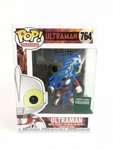 Bin Furuya Autograph FUNKO POP Ultraman Signed JSA COA