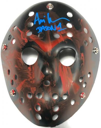 Ari Lehman Jason Voorhees Friday the 13th Signed Mask FSG Jason 1 A
