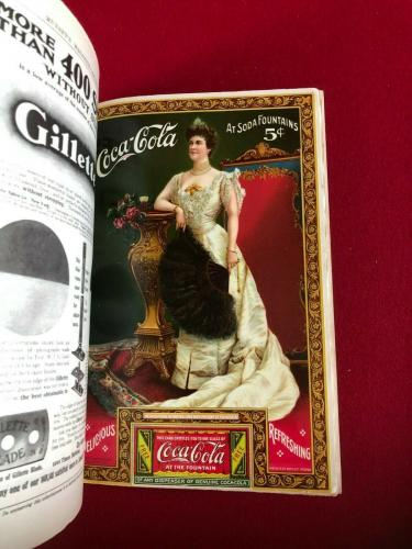1905, Coca-Cola, Lillian Nordica, Coupon Page (RARE) Vintage