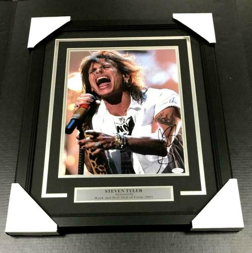Steven Tyler Autographed 11x14 Photo Aerosmith Attractive Designs; Photographs