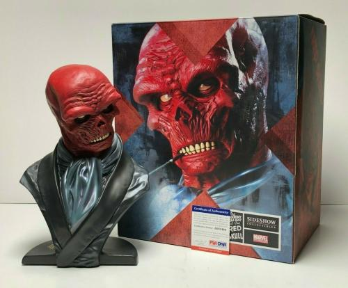 Stan Lee Signed Red Skull Artist Proof Sideshow Collectibles Bust PSA AB82464