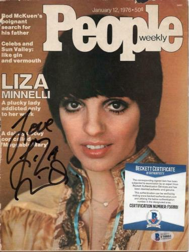 Autographed Liza Minnelli Memorabilia: Signed Photos & Other