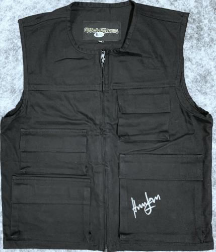 Star Wars Harrison Ford Autographed Hans Solo Vest - BAS Beckett Witnessed
