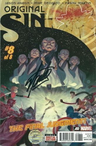 Stan Lee Signed Original Sin:The Final Judgement Comic Book Marvel Excelsior COA