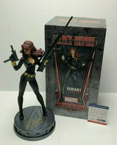 "Stan Lee Signed 'Black Widow' Bowen Designs 12"" Marvel Statue PSA AB82461"
