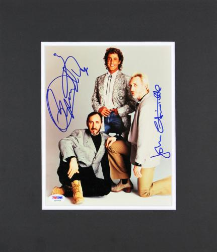 Roger Daltrey & John Entwistle Signed 8x10 Matted Photo PSA #Q45423