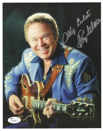 Roy Clark Hand Signed 8x10 Photo Country Music Legned Rare Autographed Authentic Entertainment Memorabilia Music