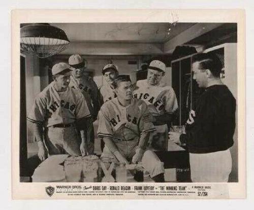 "1952 ""The Winning Team"" Orig Warner Bros LE 52/264, Movie Photo w/ Ronald Reagan"