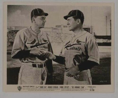 "1952 Ronald Reagan, ""The Winning Team"" Original Limited Edition Photo, 52/264"