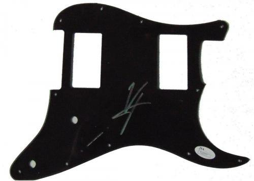 Vince Neil Signed Autographed Electric Guitar Pickguard Motley Crue Silver JSA