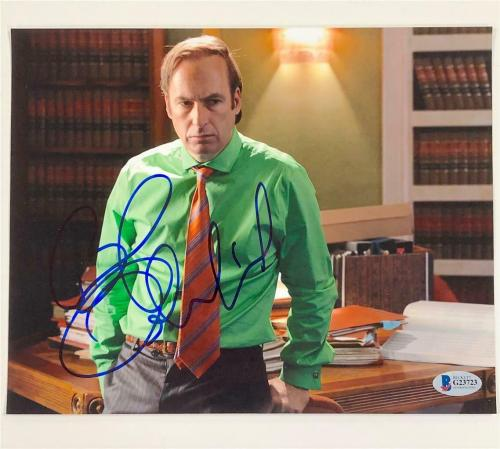 BOB ODENKIRK Breaking Bad signed Better Call Saul 8x10 Photo C ~ Beckett BAS COA