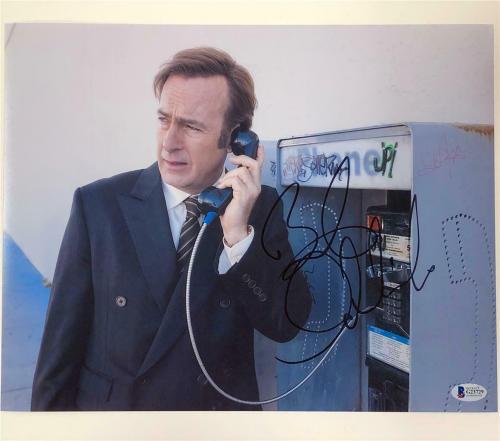 BOB ODENKIRK autograph signed Better Call Saul 11x14 Photo F ~ Beckett BAS COA