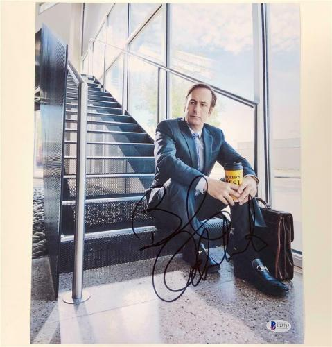 BOB ODENKIRK autograph signed Better Call Saul 11x14 Photo A ~ Beckett BAS COA