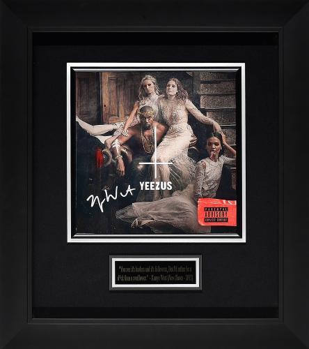 Autographed Kanye West Memorabilia: Signed Photos & Other Items