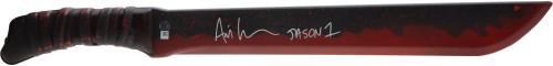 Ari Lehman Friday the 13th Autographed Jason Replica Sword