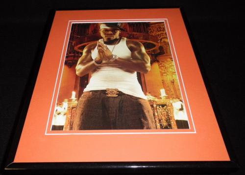 50 Cent Signed Autographed 12x12 Vinyl Album Cover Photo Get Rich Or Die Tryin