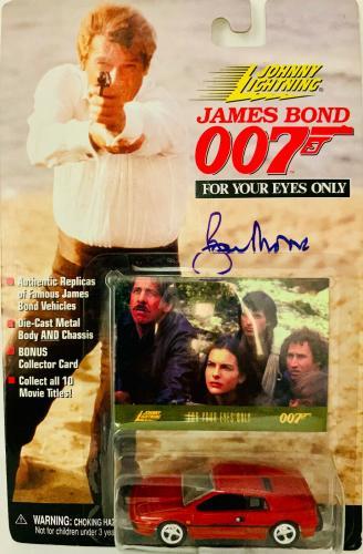 James Bond 007 Roger Moore Signed Die Cast Car - Auto PSA DNA