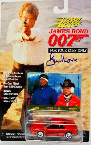 Roger Moore Signed James Bond 007 Die Cast Car - Autographed PSA DNA