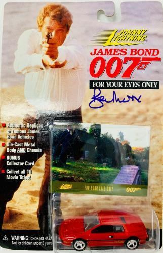 James Bond 007 Roger Moore Signed Die Cast Car - Autographed PSA DNA