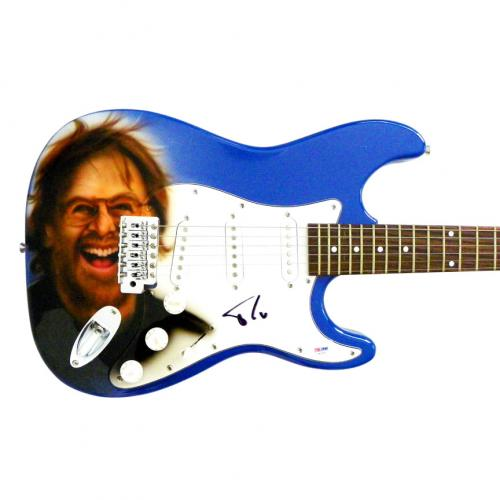 Trey Anastasio Phish Autographed Signed Airbrushed Painted Guitar PSA & Proof
