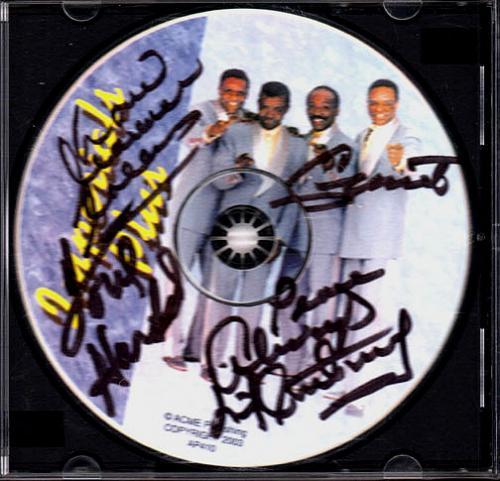 Little Anthony & The Imperials Autographed Signed CD Uacc Co AFTAL