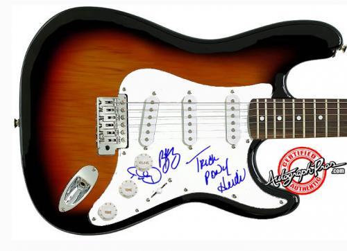 TRICK PONY Autographed Signed Guitar & Proof PSA/DNA Cert   AFTAL