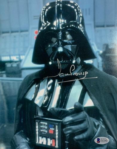 Dave Prowse Signed Star Wars Darth Vader 8 x 10 Photo - Auto Beckett BAS COA 8