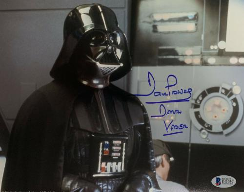 Dave Prowse Signed Star Wars Darth Vader 8 x 10 Photo - Auto Beckett BAS COA 5