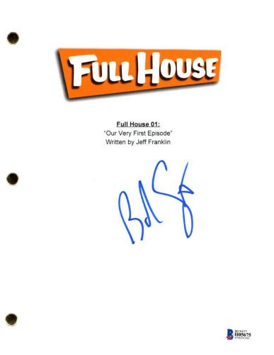 Bob Saget Signed Autographed Full House Script Episode 1 Brand New Beckett Bas
