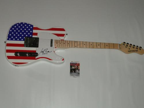 Joe Biden Signed Usa Electric Guitar 2020 President Barack Obama Vice Jsa Coa