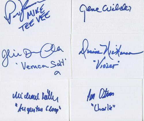 Professional Sale Gildna Radner & Gene Wilder Signed Program Cards & Papers Entertainment Memorabilia Coa Jsa