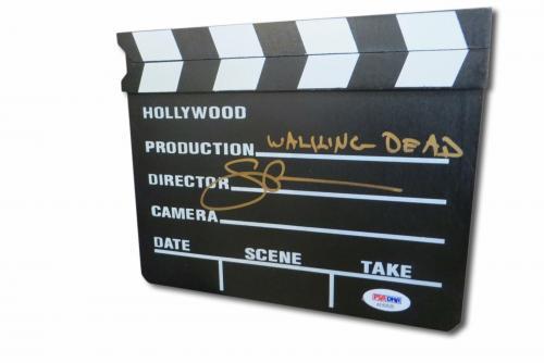 Greg Nicotero Signed Autographed Mini Movie Clapper The Walking Dead PSA AE83525