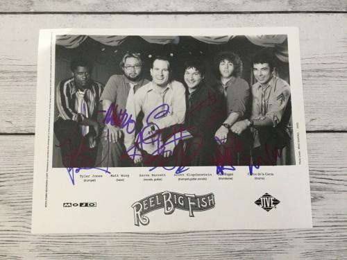 Reel Big Fish Memorabilia: Autographed Albums & Signed