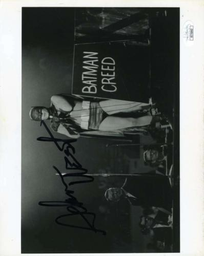 Adam West Jsa Cert Hand Signed 8x10 Batman Photo Autograph