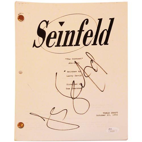 Seinfeld Memorabilia: Autographed Pictures, Authentic Signed