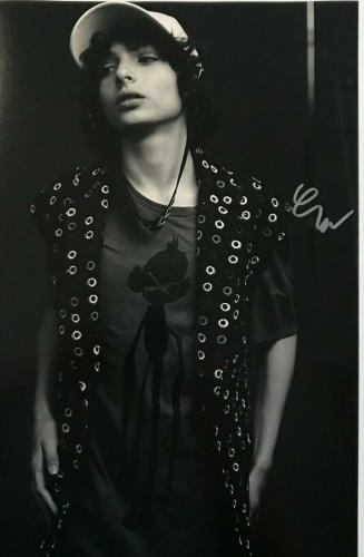 FINN WOLFHARD (Mike-Stranger Things/IT/Pennywise) authentic signed 12x18 #5