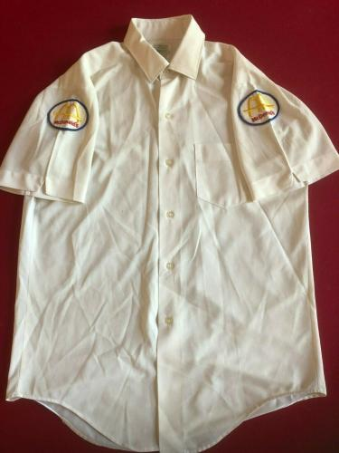 "1960's, McDonald's, ""Manager Shirt""  (Slash Logo) RARE (Vintage)"