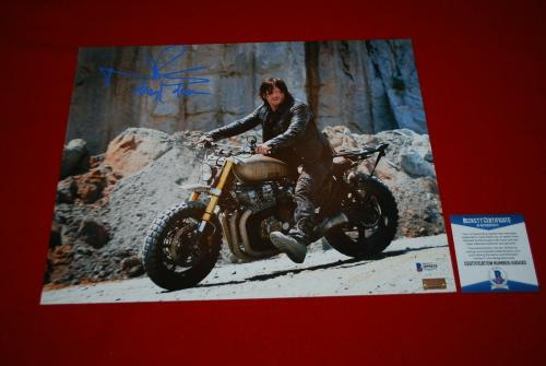 NORMAN REEDUS the walking dead DARYL DIXON signed 11x14 photo BECKETT COA