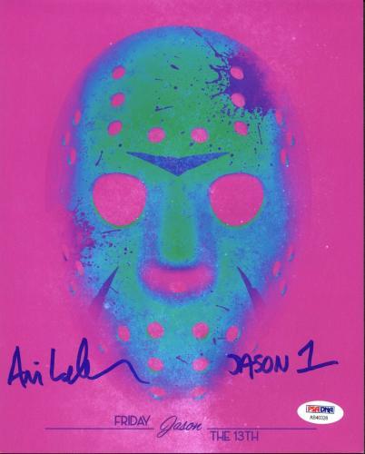"Ari Lehman ""Jason 1"" Signed Friday The 13th 8X10 Photo PSA/BAS 8"