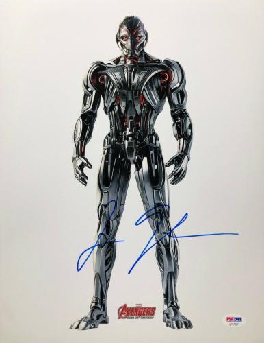 James Spader Signed 'Avengers:Age Of Ultron' 11x14 Photo *Marvel PSA AF57297