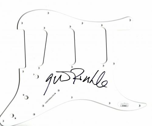 Gavin Rossdale Autographed Electric Guitar Pickguard Bush Singer JSA EE36606
