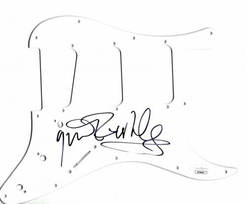 Gavin Rossdale Signed Auto Electric Guitar Pickguard Bush Singer JSA EE36607