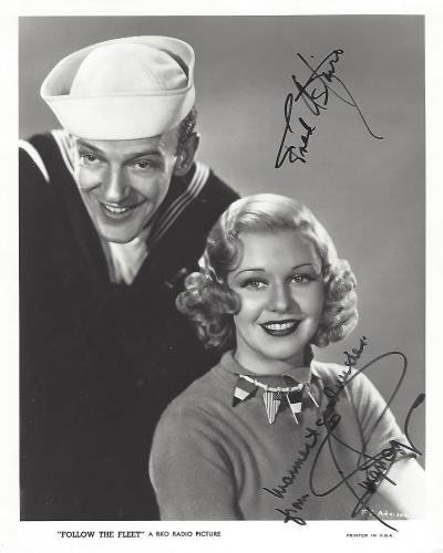 Autographed Ginger Rogers Memorabilia Signed Photos Other Items