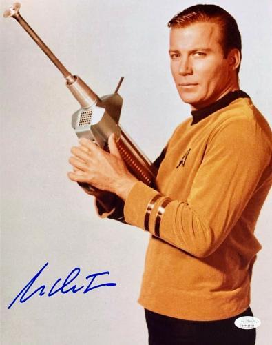 William Shatner Star Trek Signed Autographed 11x14 Photo JSA Authenticated 5