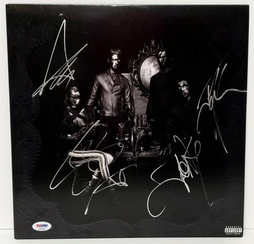"HALESTORM Lzzy Hale +3 Signed Autographed ""THE STRANGE CASE OF..."" Album PSA/DNA"