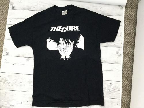 Robert Smith The Cure Signed Autographed Used Large T-Shirt Beckett BAS COA a