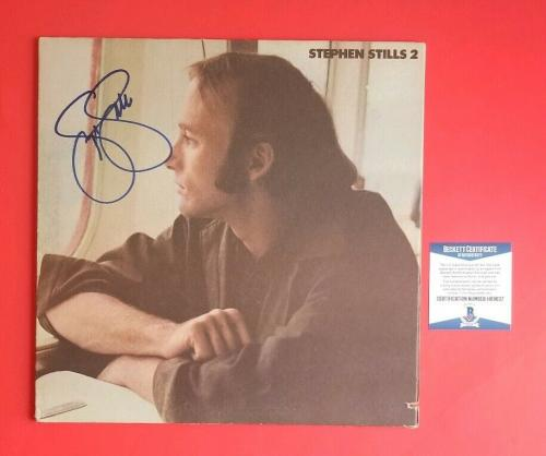 Stephen Stills Signed Self Titled 2 Lp Album Certified Authentic With Bas Coa