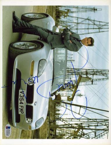 PIERCE BROSNAN BAS Beckett Coa Autograph 8x10 James Bond Photo Hand Signed
