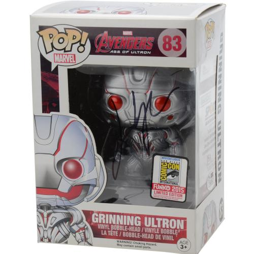James Spader Avengers Age Of Ultron Autographed #83 Grinning Ultron Funko Pop! - JSA